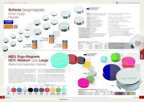 Ergo-Designmagnets brochure