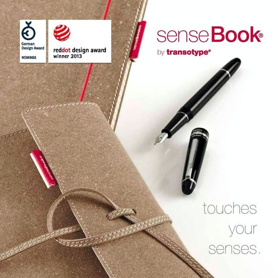 senseBook brochure