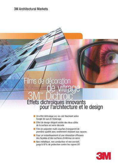 3M™ Dichroic Films de décoration de vitrage