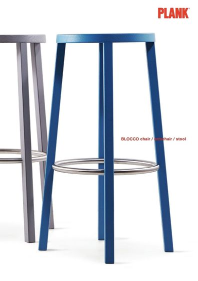 Blocco chair/armchair/stool