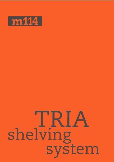 TRIA shelving system