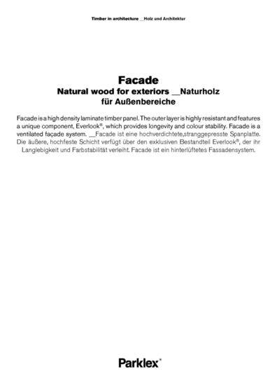 Facade 2014 (EN, DE)