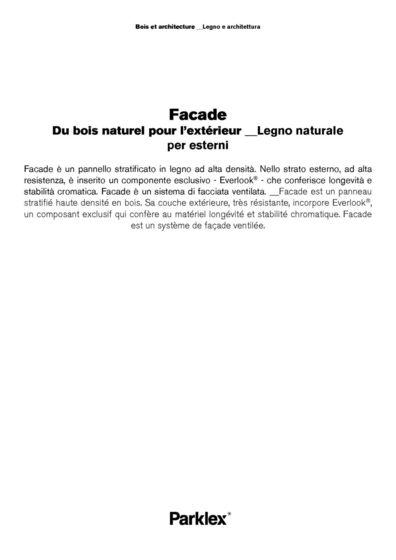 Facade 2014 (FR, IT)
