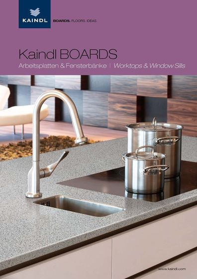 Kaindl BOARDS - Worktops & Window Sills