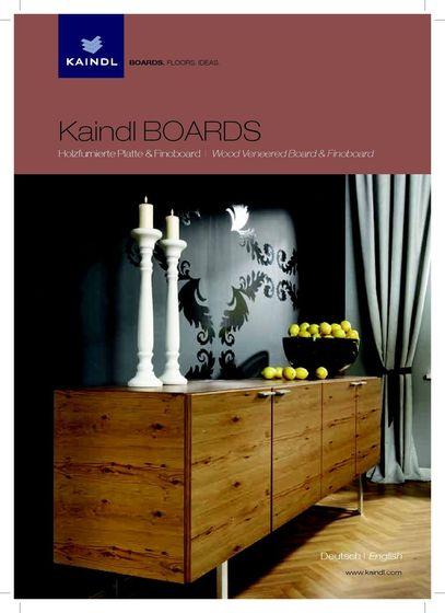 Kaindl BOARDS - Wood Veneered Board & Finoboard