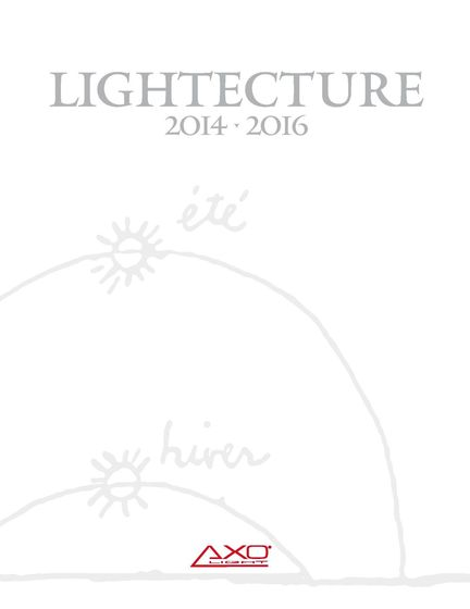 Axo Light - Lightecture 2014-2016