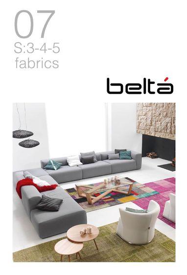 Beltá S:3-4-5 fabrics