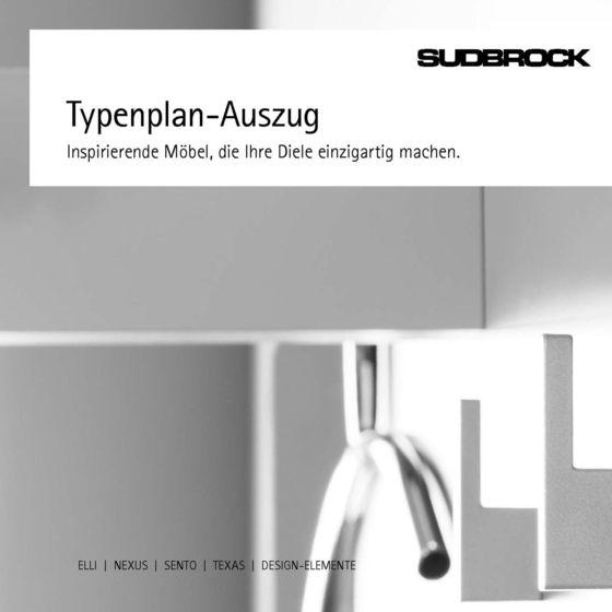 Einzelgarderoben Typenplan-Auszug 2014