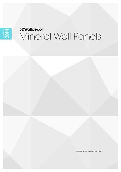 3D Walldecor - Mineral Wall Panels
