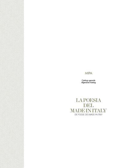 Mipa general catalogue 2013