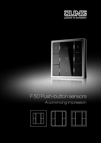 JUNG F50 Push-button sensors - A convincing impression
