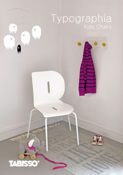 TABISSO - Typographia Kids Chairs 2015