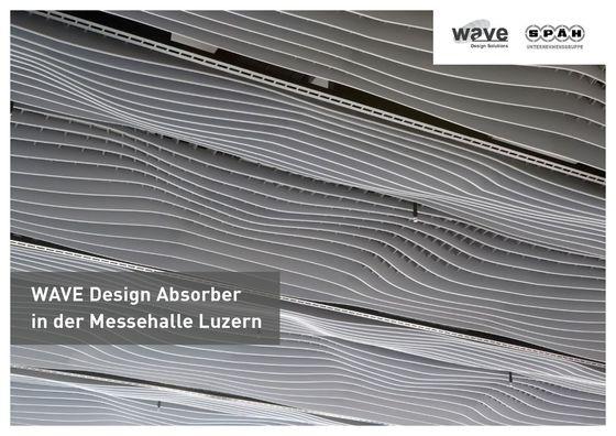 Wave Design Absorber | Messehalle Luzern