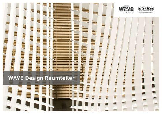 Wave Design Raumteiler