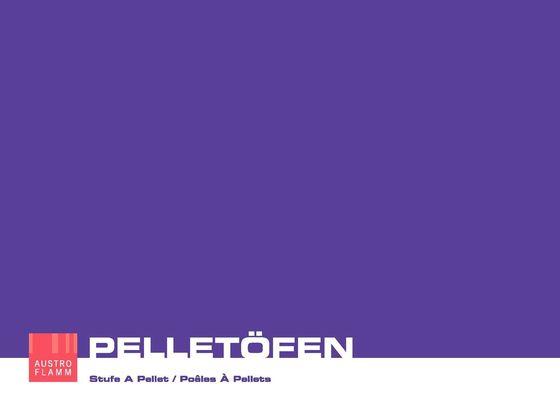 Austroflamm Pelleoefen 2014