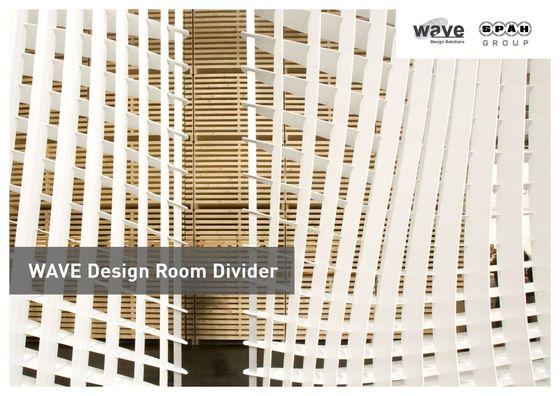 Wave Design Room Divider