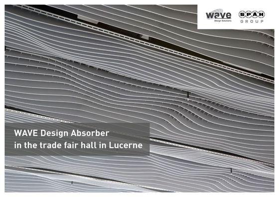 Wave Design Absorber | Trade Fair Hall Lucerne