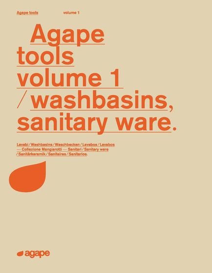 Agape tools volume 1 | washbasins, sanitary ware