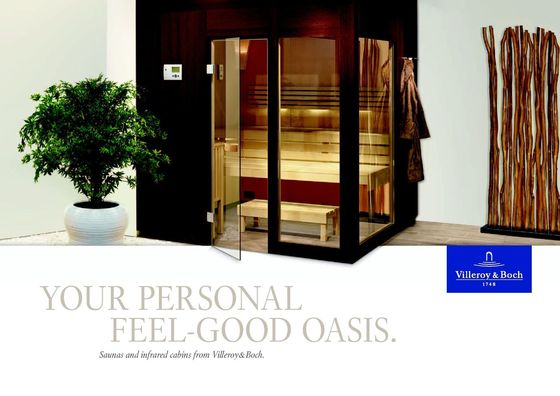 Villeroy & Boch | Saunas and infrared cabins