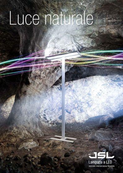 JSL LED Lampada da terra