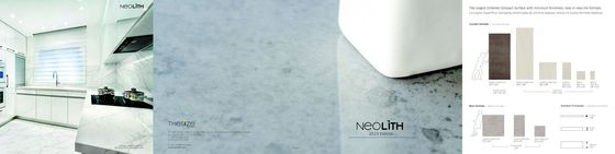 Neolith Brochure Edition 2015