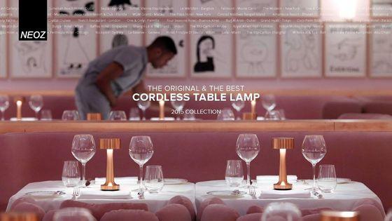 Neoz Cordless Lamp Brochure 2015