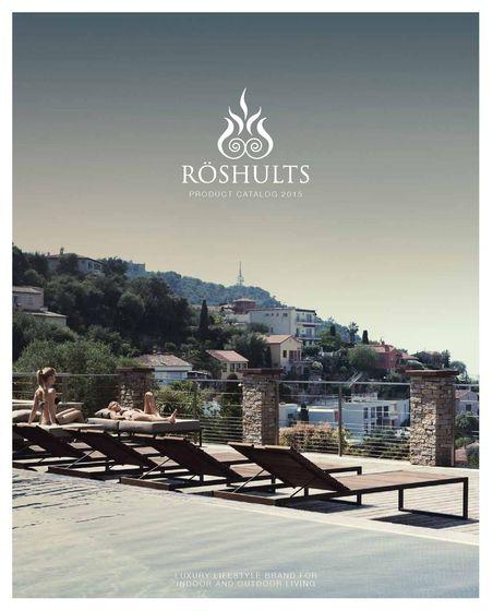 Röshults Product Catalogue 2015
