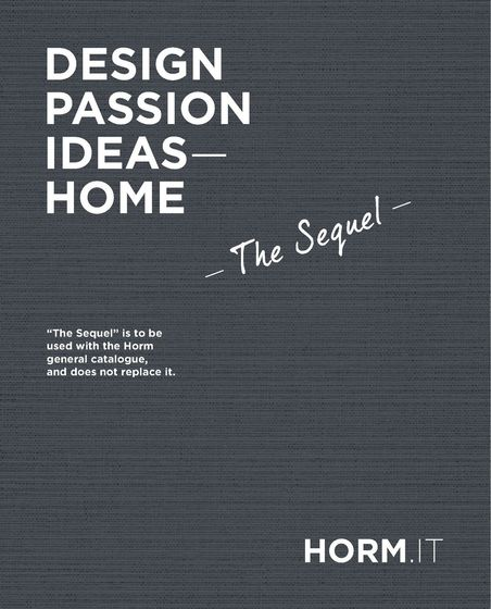 Horm | Design, Passion, Ideas - Home | The Sequel