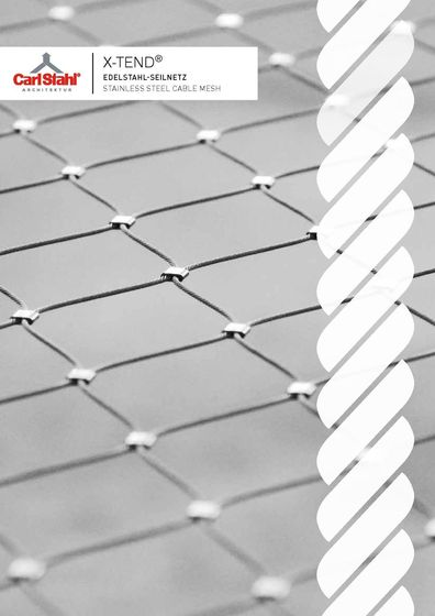 X-TEND ® Stainless steel cable mesh