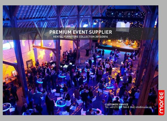 Premium event supplier | Rental furniture collection 2013-2014
