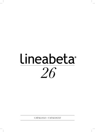 Lineabeta Catalogue 26