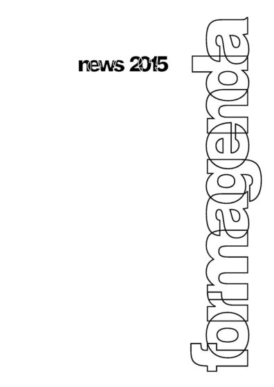 Formagenda News 2015