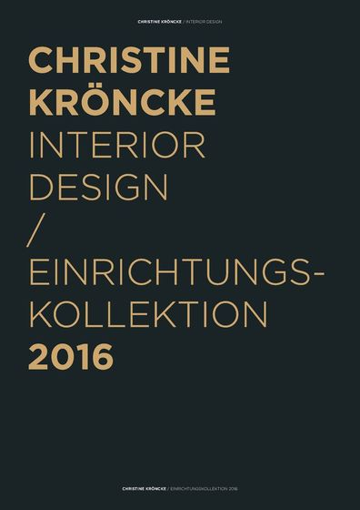 Christine Kröncke Interior Design 2016