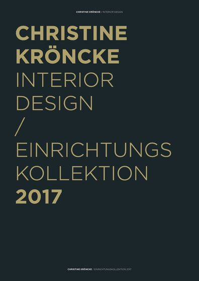Christine Kröncke Interior Design 2017