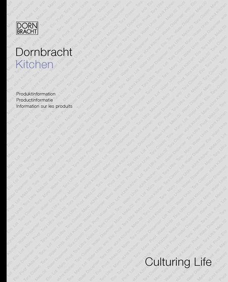 Dornbracht Kitchen Produktinformation 2015