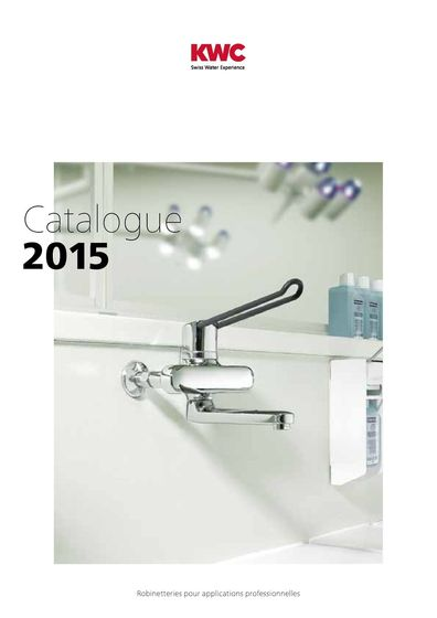 KWC Catalogue – Applications professionnelles 2015/2016