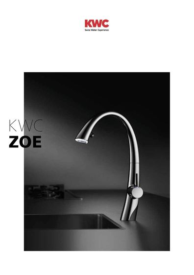 KWC ZOE Kitchen 2015/2016