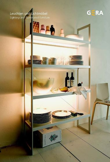 GERA Lighting and Illuminated furniture