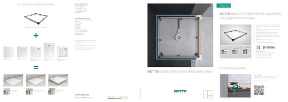 Bette Installation System Universal