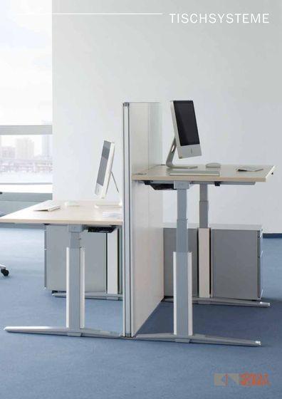 Tischsysteme Katalog 2015