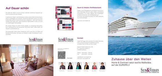 Home & Contract Schifffahrt Referenzen
