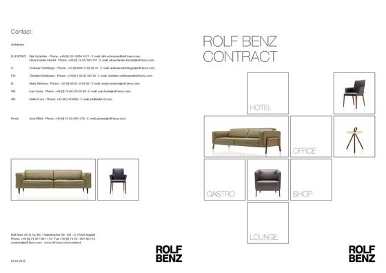 Rolf Benz Contract 2015