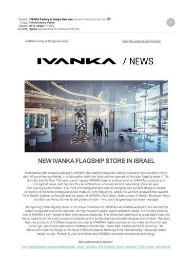 Ivanka | News 2015