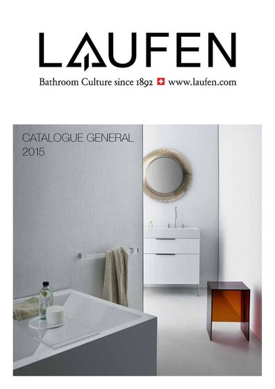 Laufen – General Catalog fr 2015