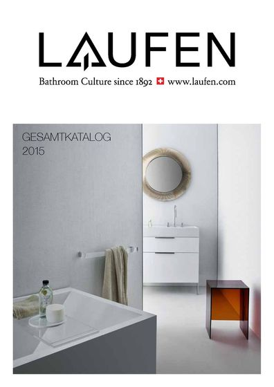 Laufen – Catalog General de 2015