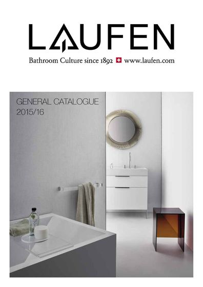Laufen – General Catalogue en 2015