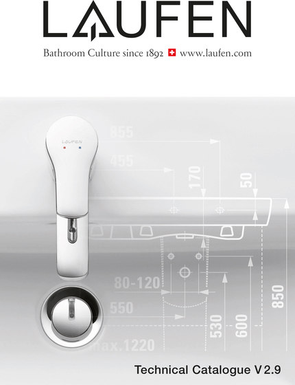 Laufen – Technical Catalogue 2016