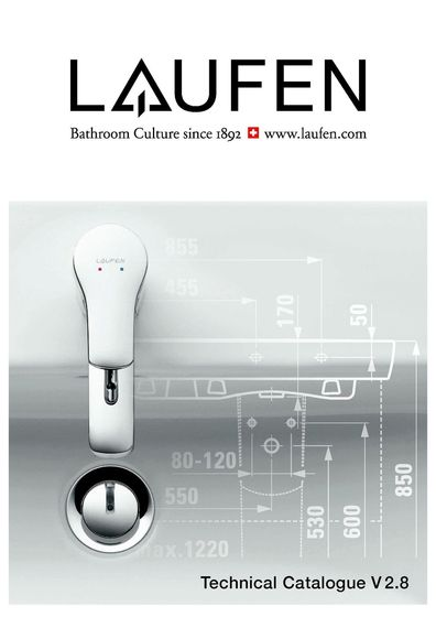 Laufen – Technical Catalogue 2015