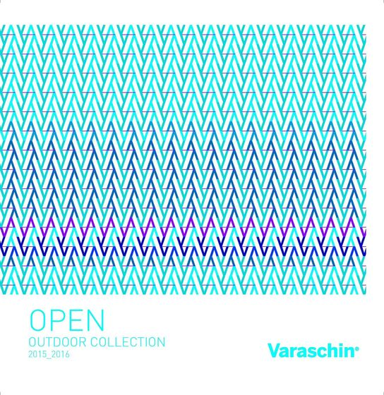 Varaschin Catalogo Open Outdoor 2015