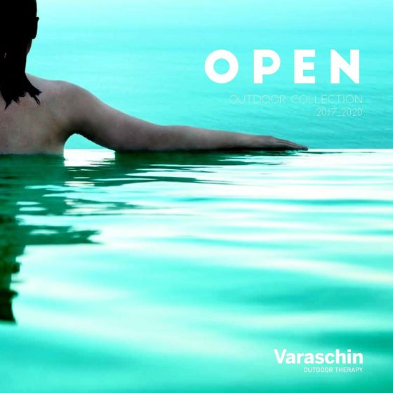 Varaschin Catalog Open Outdoor 2017